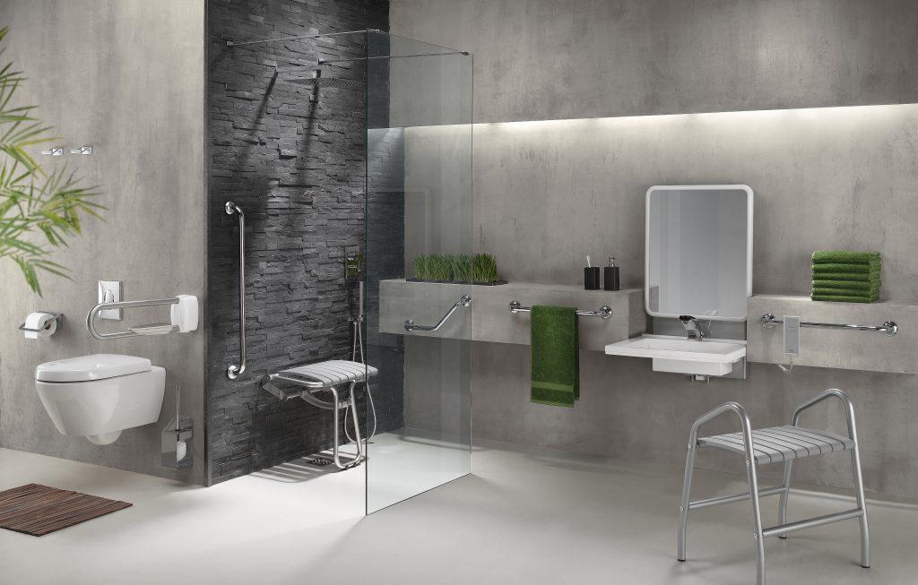 salle de bain accessible PMR, ADAP