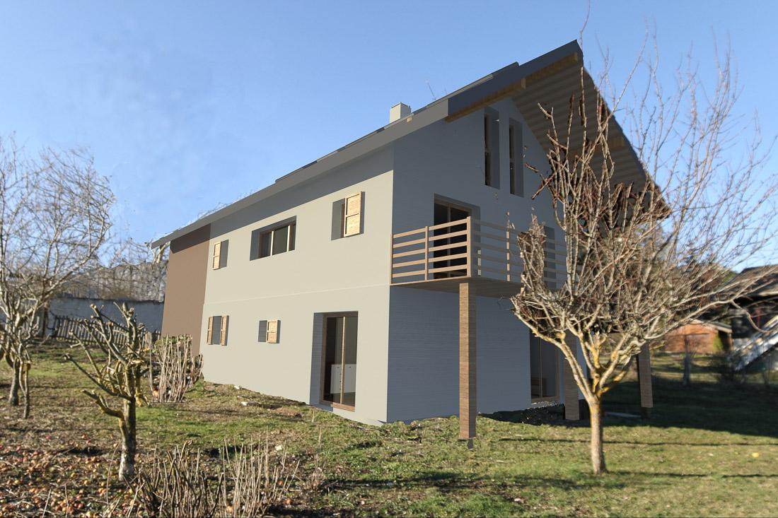 Extension maison energies renouvelables plans et d p t for Extension maison 17