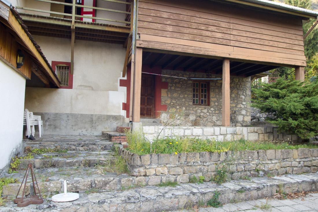 Extension ossature bois et r habilitation de batiments for Assainissement maison ancienne