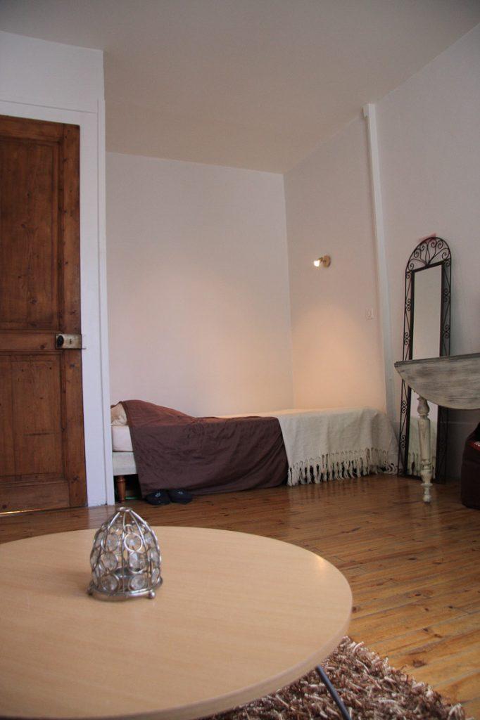 chambre en alcove appartement ancien