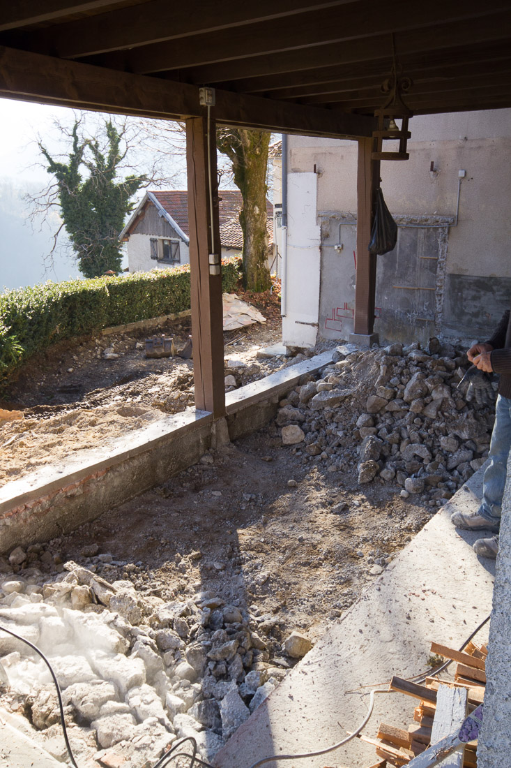 Extension ossature bois et r habilitation de batiments for Travaux et renovation