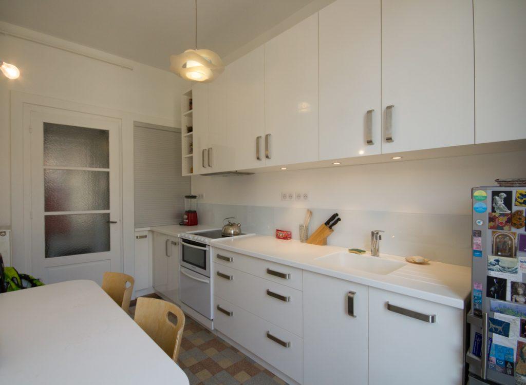 amenagement interieur cuisine blanche